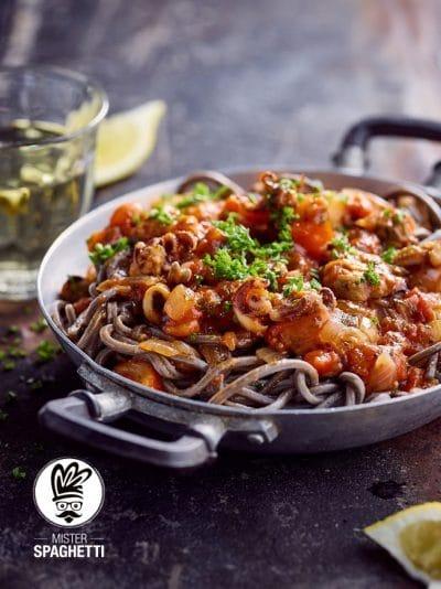 Mister Spaghetti Boek